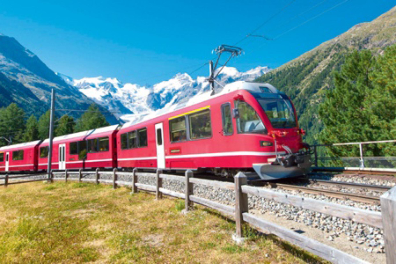 La Suisse : Train de Légende !