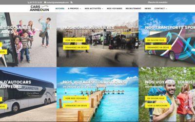 En 2020, nouveau site pour CARS ANNEQUIN !
