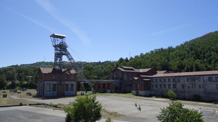 Vue du Musée de la mine à St Etienne