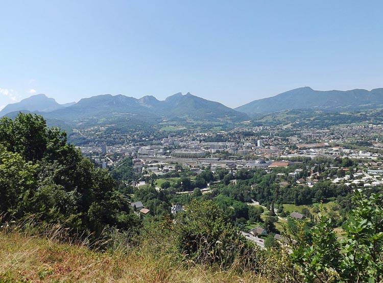 Vue de Chambéry, Cité des Ducs de Savoie